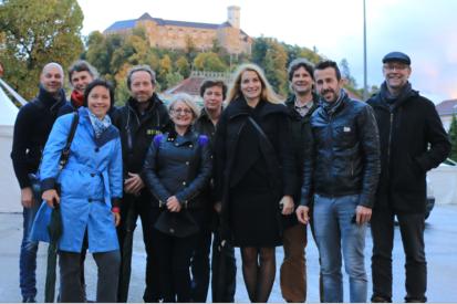 Kick-off meeting in Slovenia (Courtesy of Biotechniski Center Naklo)